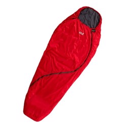 Jack Wolfskin Smoozip +3 Women sovepose, red fire