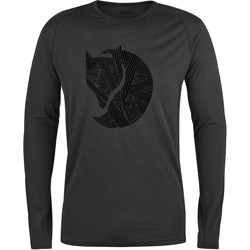 Fjällräven Abisko Trail T-Shirt Printed, dark grey