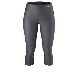 Fjällräven Abisko Trekking Tights 3/4 Women, dark grey