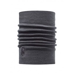 Buff Heavyweight Merino wool, grå
