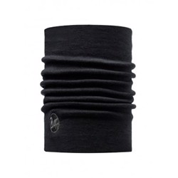 Buff Heavyweight Merino wool, solid black