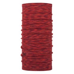 Buff Midweight Merino wool, rusty multi stripes