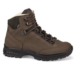 Hanwag Canyon wide GoreTex vandrestøvler, earth brown