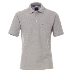 Casa Moda Lisbon polo shirt, light grey