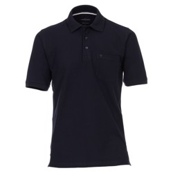 Casa Moda Lisbon polo shirt, dark navy