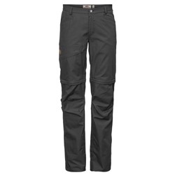 Fjällräven Daloa Shade Zip-Off Trousers W, dark grey