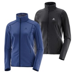 Salomon Discovery FZ midlayer Woman fleecejakke