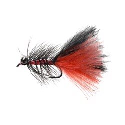 Unique Flies Dredger fl. orange, put & take flue