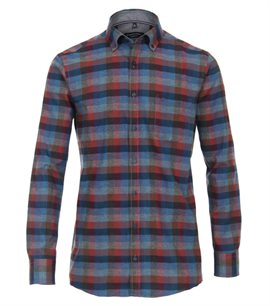 Casa Moda Bari softflannel, blue check