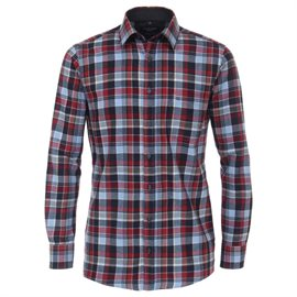Casa Moda Foggia softflannel, blue/red check