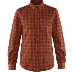 Fjällräven Kiruna Flannel Shirt Men, autumn leaf