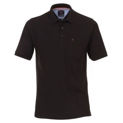 Casa Moda Lisbon polo shirt, black