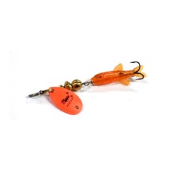 Mepps Mini Salmon round orange, UL spinner