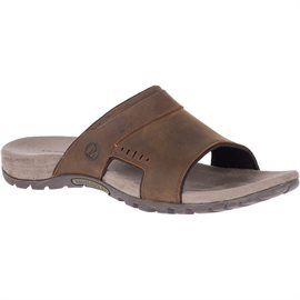 Merrell Sandspur Lee Slide / sandal, dark earth