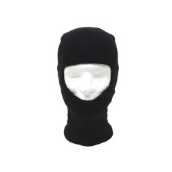 MFH Balaclava strikket, sort