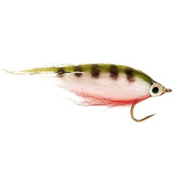 Minnow perch / aborre, streamerflue