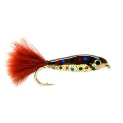 Minnow brown, put & take flue
