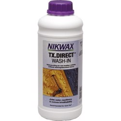 Nikwax TX-direct, wash in - 1 liter imprægneringsmiddel