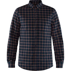 Fjällräven Övik Flannel Shirt Men, dark navy