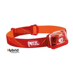 Petzl Tikkina pandelampe 250 lm, red/orange