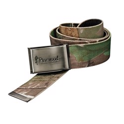 Pinewood Canvas bælte, camouflage