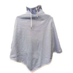 Weather Report fleece poncho