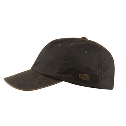 MJM Ron Antique Cotton cap, brun