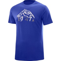 Salomon 1947 T-Shirt Men, deel blue