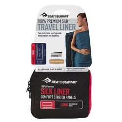 Sea to Summit Silk Stretch Liner, long