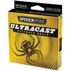 Spiderwire Ultracast Ultimate Braid grøn, 110m