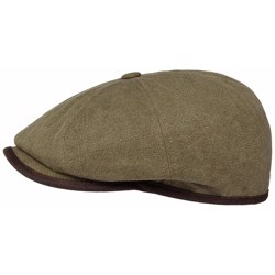 Stetson Hatteras Canvas vinter, brun
