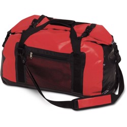 Rapala Waterproof Duffelbag 100L, black/red